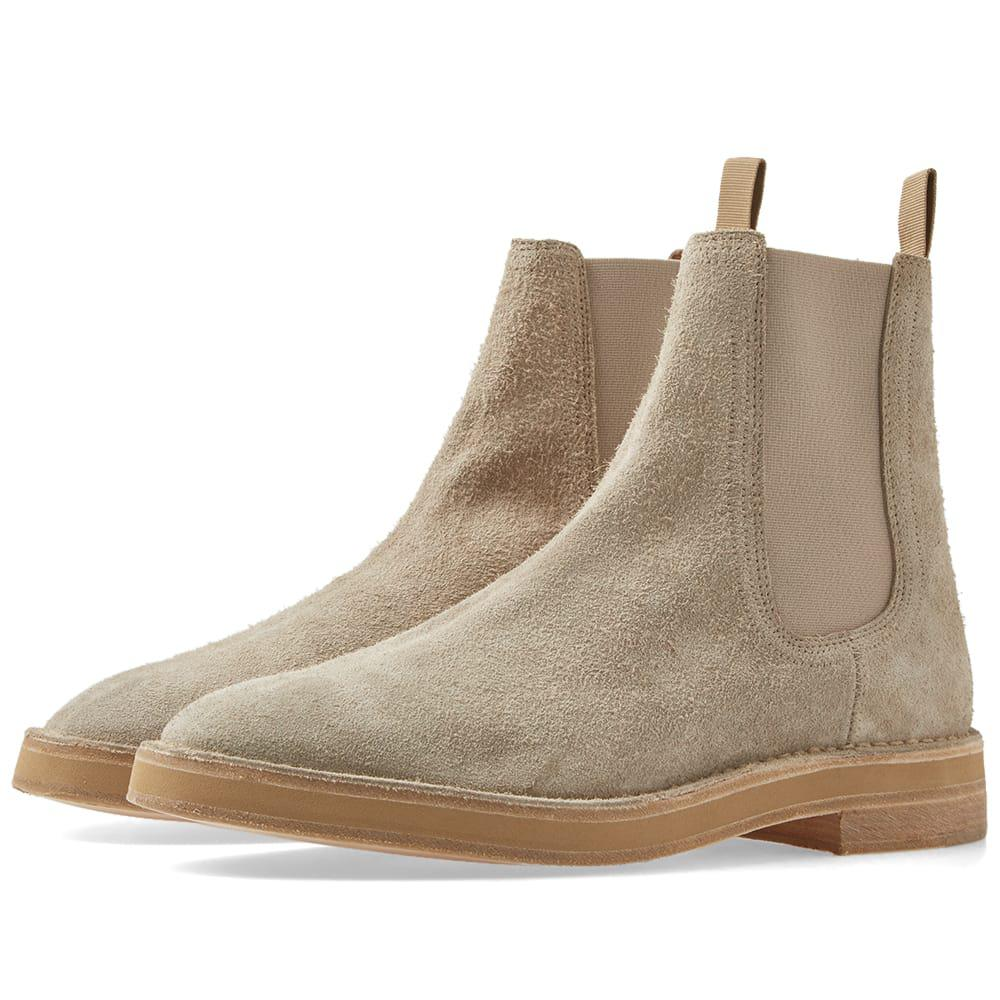 a286600e62f8d Yeezy Suede Chelsea Boot for Men - Lyst