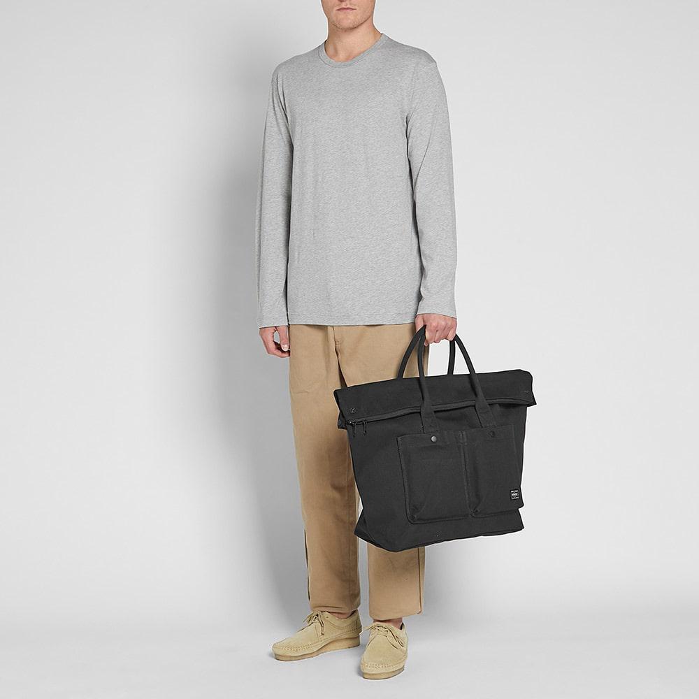 d9c1d184bb8a Head Porter - Black Banff Large Tote Bag for Men - Lyst. View fullscreen