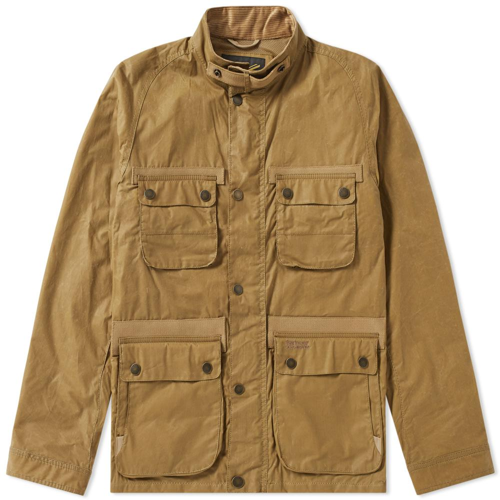 Barbour X Land Rover Hirta Wax Jacket For Men