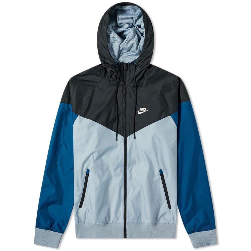 63fc681307 Lyst - Nike Windrunner Jacket in Blue for Men