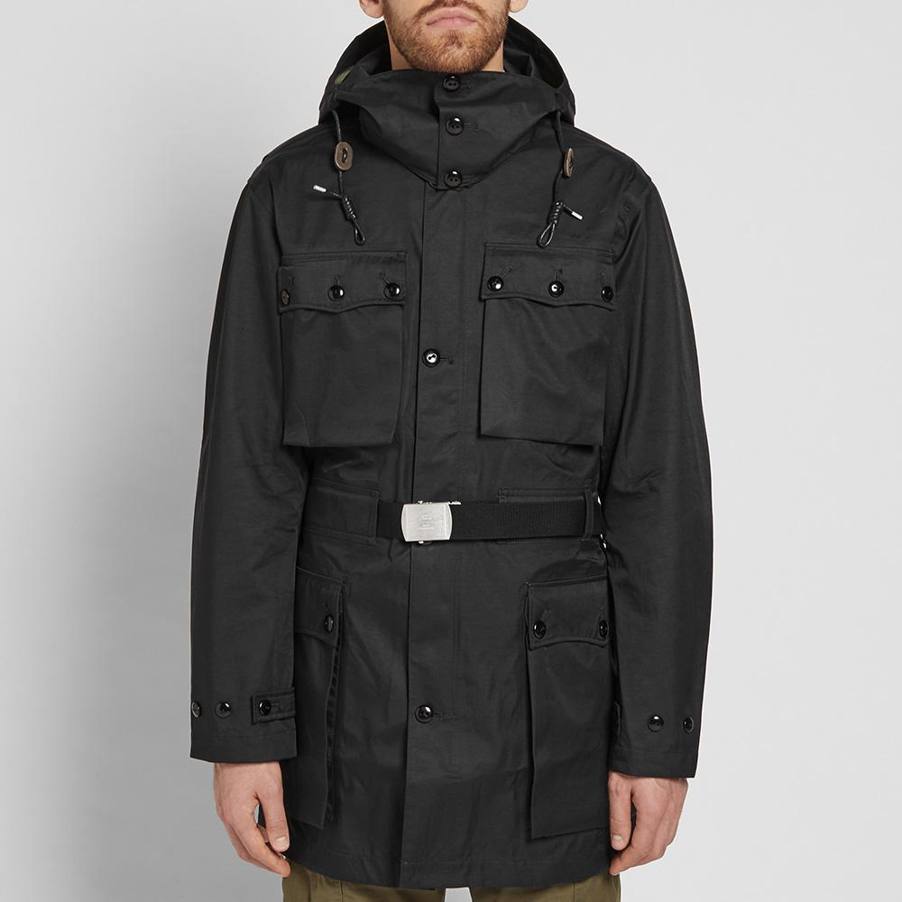 4980eee8f6052a Nigel Cabourn X Peak Performance Swedish Mountain Parka in Black for ...
