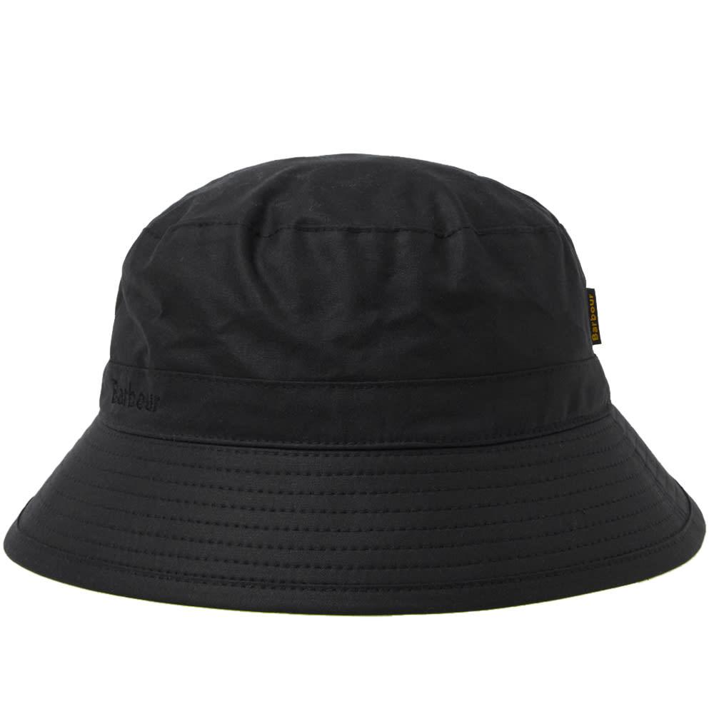 f6aab2d8393 Lyst - Barbour Wax Sports Hat in Black for Men - Save 41%