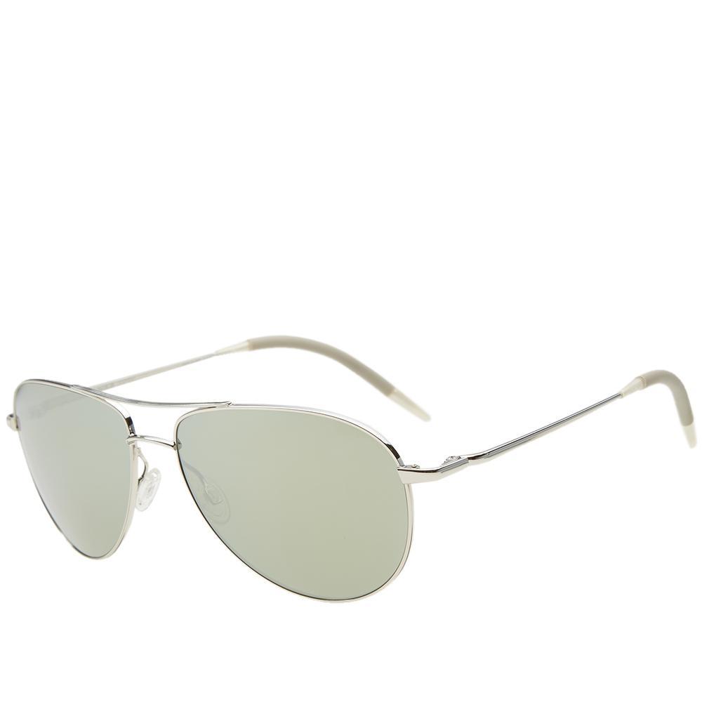 6c5deb466c0 Lyst - Oliver Peoples Benedict Sunglasses in Metallic for Men