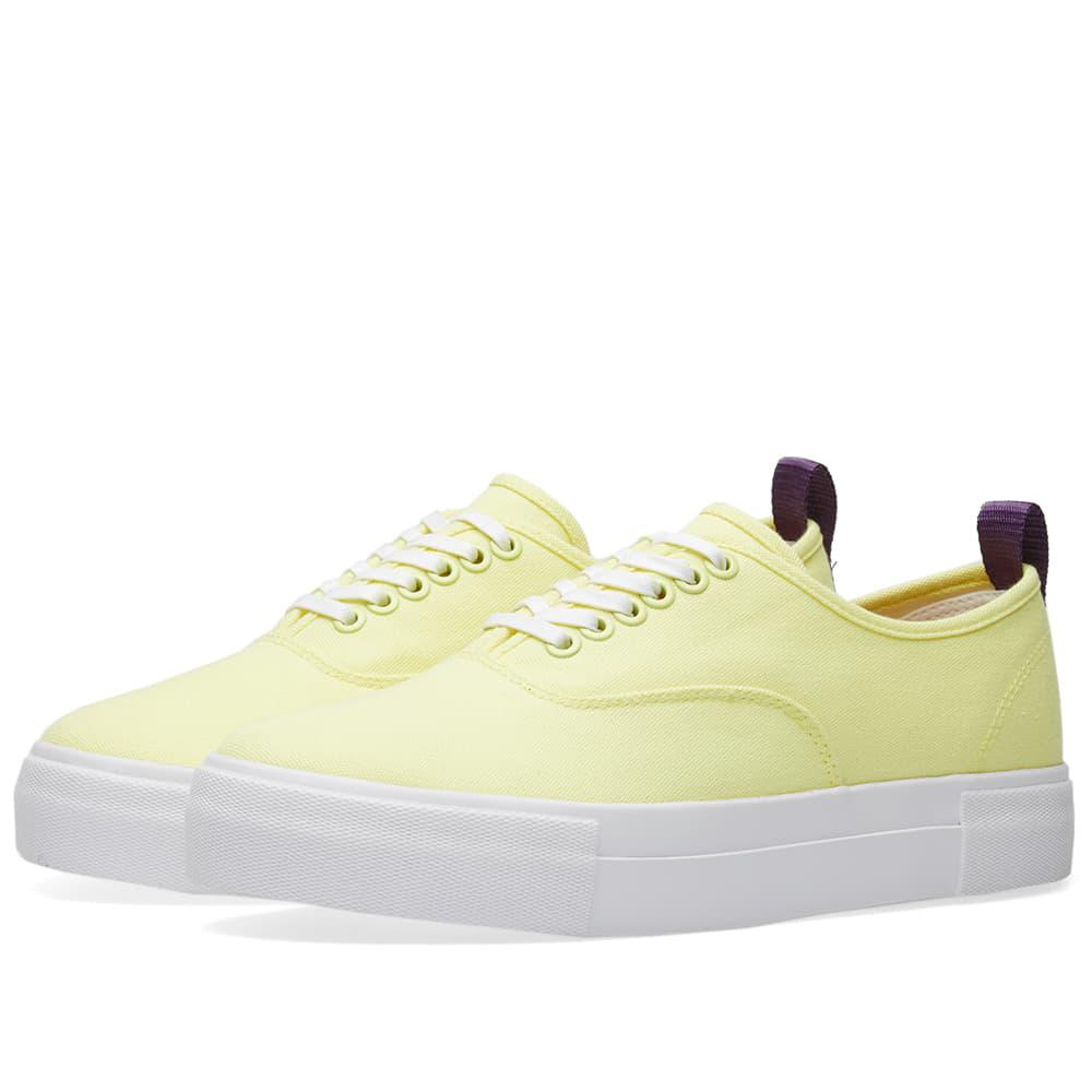 Eytys Yellow Canvas Mother Sneakers u7g4PJgm