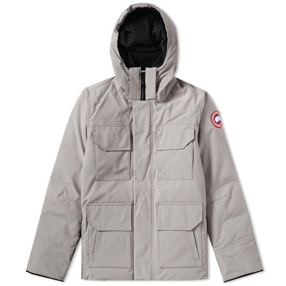 0f44fcbfbb53 Canada Goose Maitland Parka in Gray for Men - Lyst
