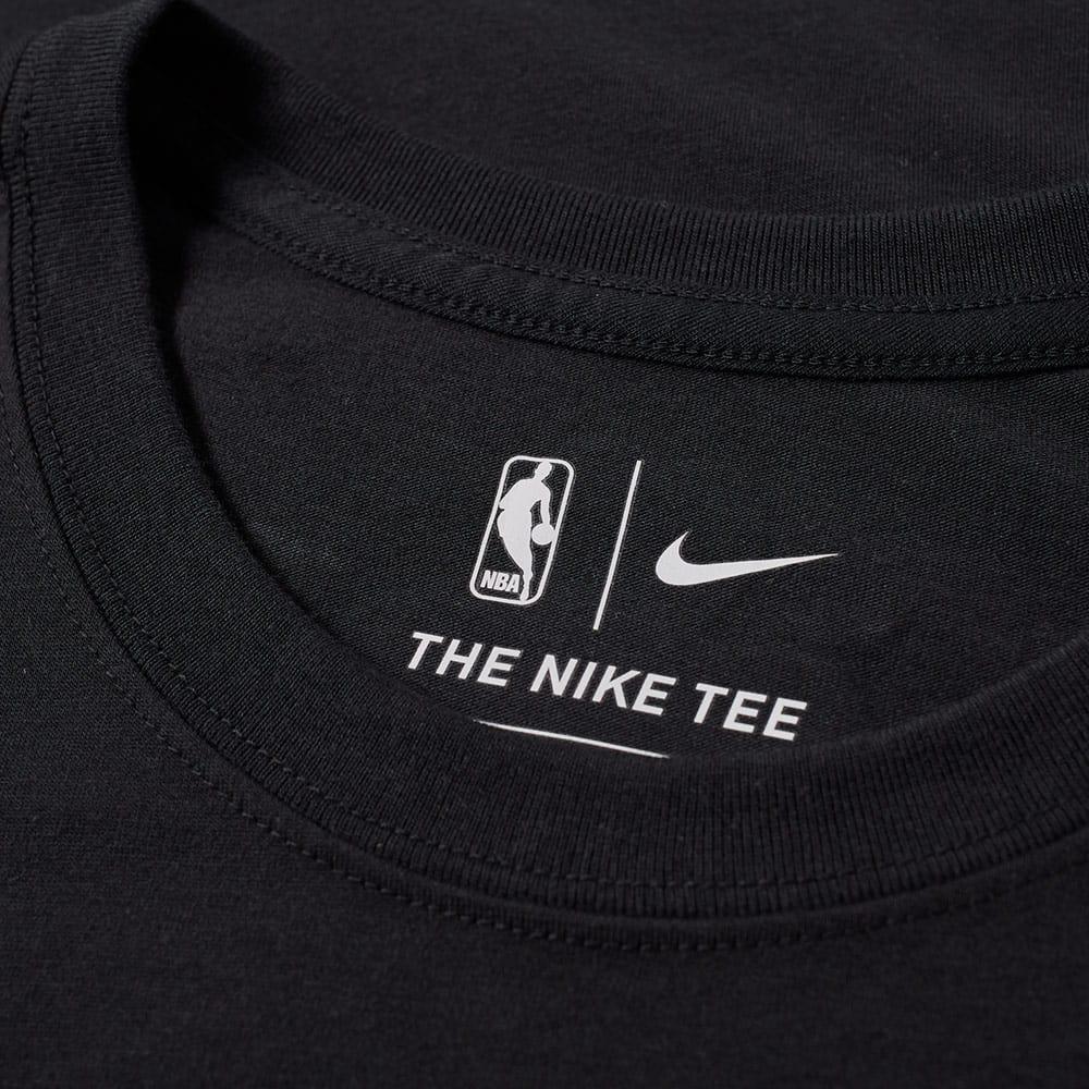 Lyst - Nike Boston Celtics City Edition Tee in Black for Men 422642705