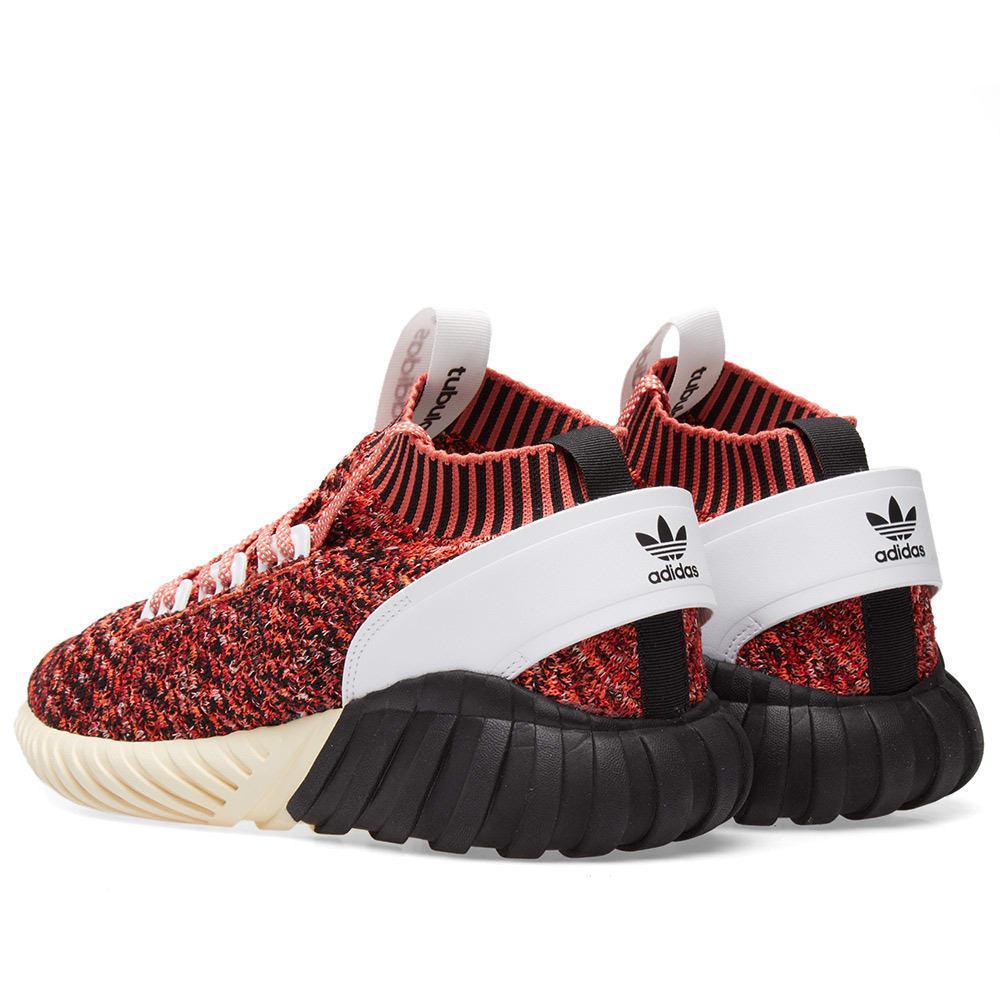 4d8aec58c992 Lyst - adidas Tubular Doom Sock Pk in Red for Men