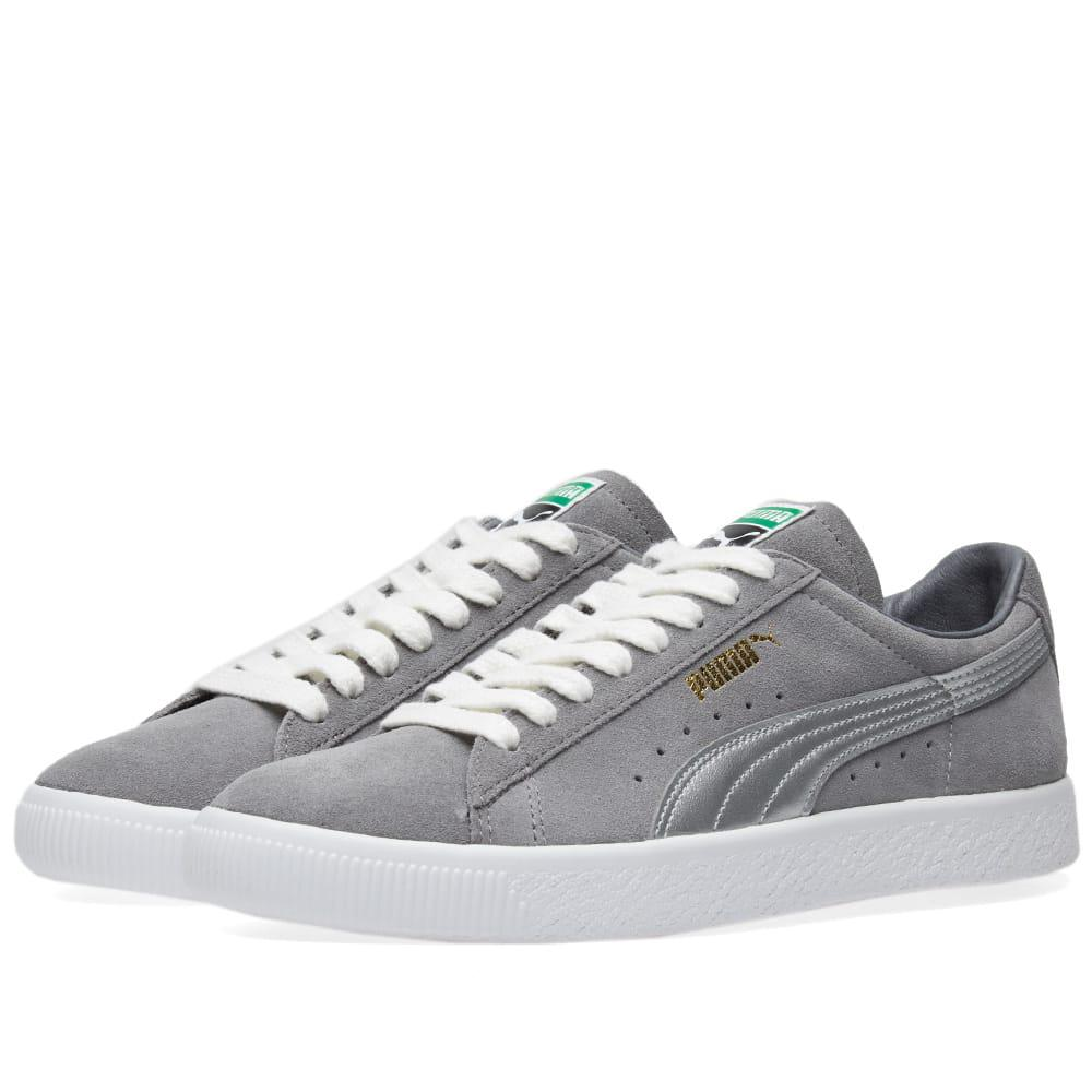 4b5b4de8d5e Lyst - PUMA Suede 90681 Silver Og Pack in Gray for Men