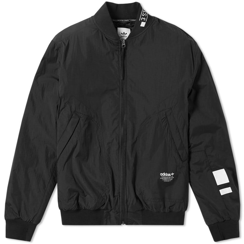 Adidas Nmd Padded Bomber Jacket In Black For Men Lyst