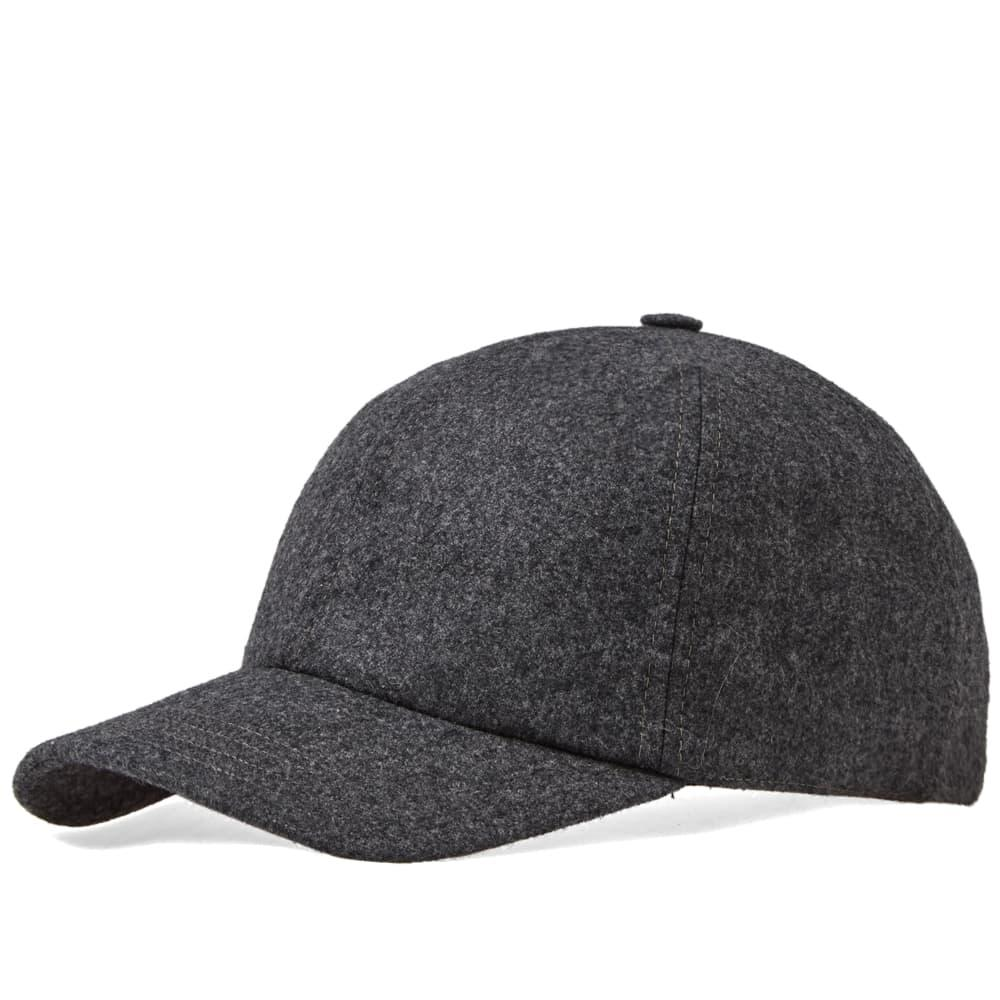 7bad025f2a3 Harmony - Gray Arnaud Flannel Cap for Men - Lyst. View fullscreen