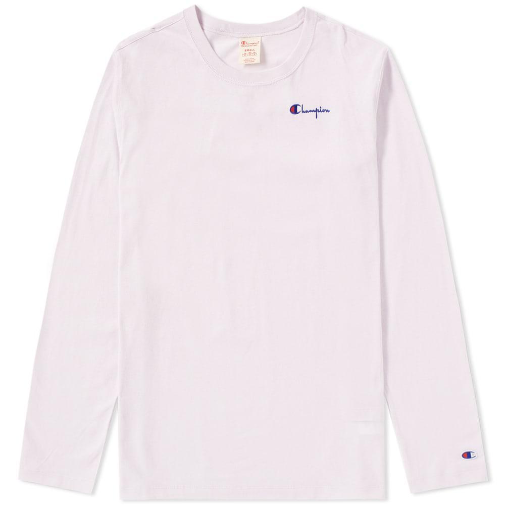 dbff457d Champion - Purple Women's Long Sleeve Classic Tee - Lyst. View fullscreen
