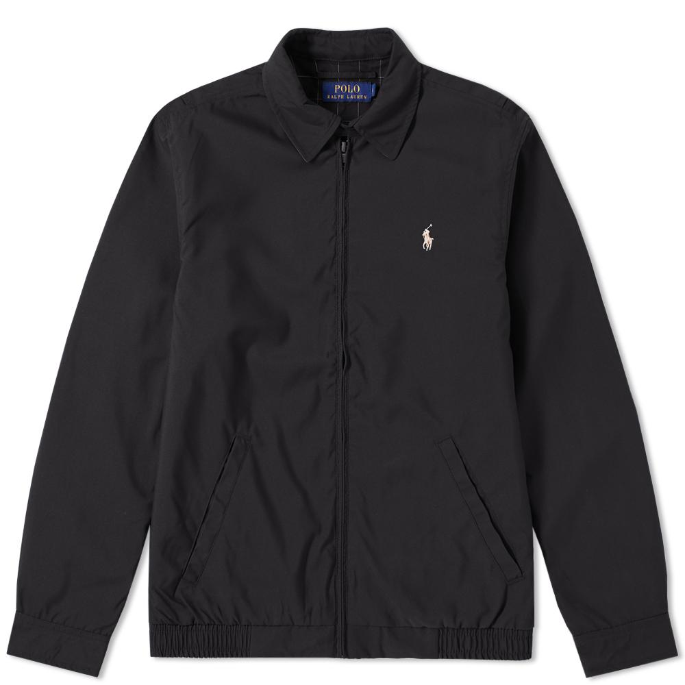 Lyst polo ralph lauren windbreaker harrington jacket in for Polo shirt with jacket