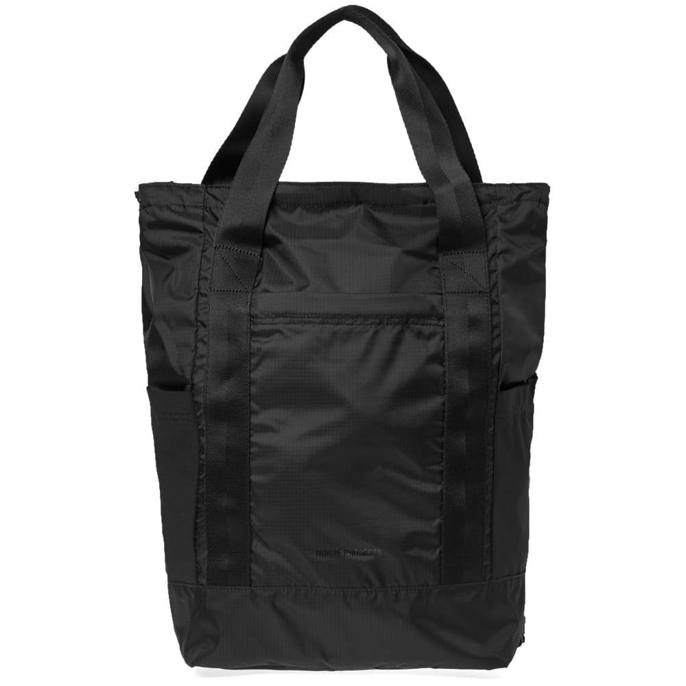 9226efc3dee Norse Projects Hybrid Backpack in Black for Men - Lyst