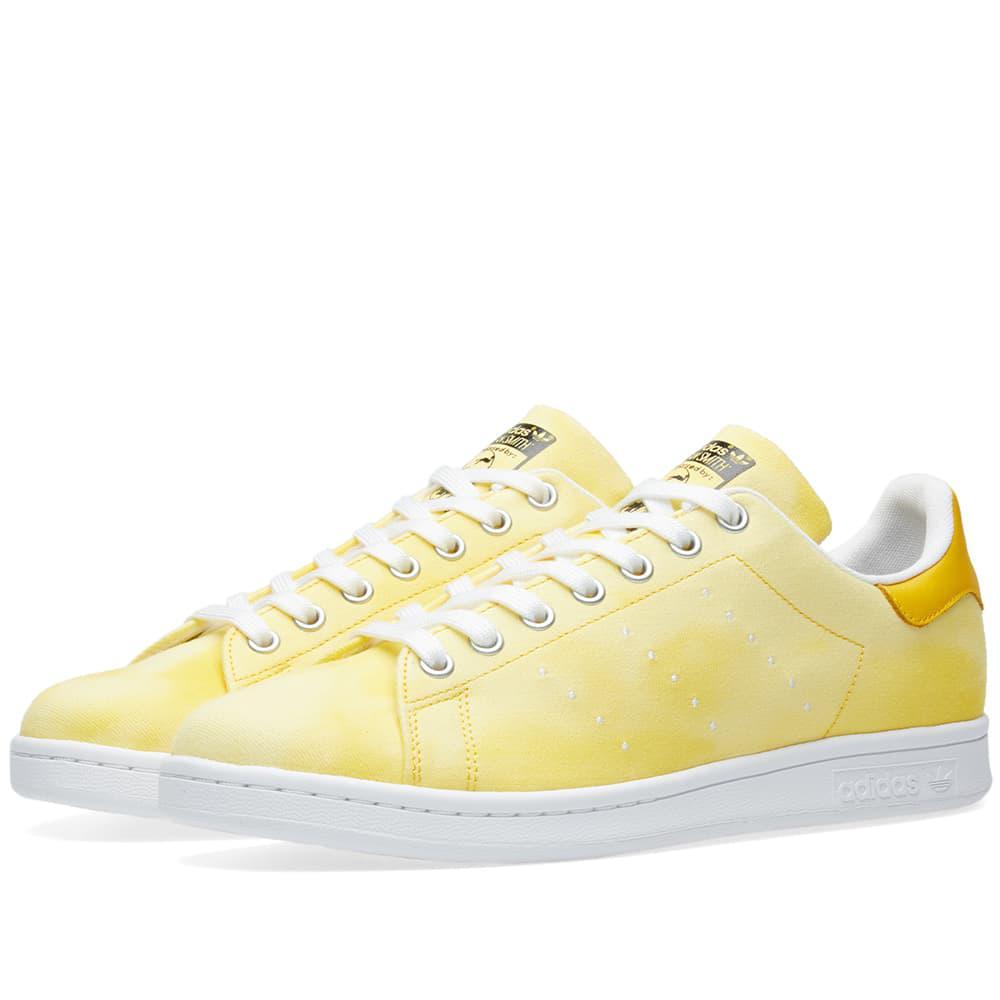 57b7e142d adidas X Pharrell Williams Hu Holi Stan Smith in Yellow for Men - Lyst