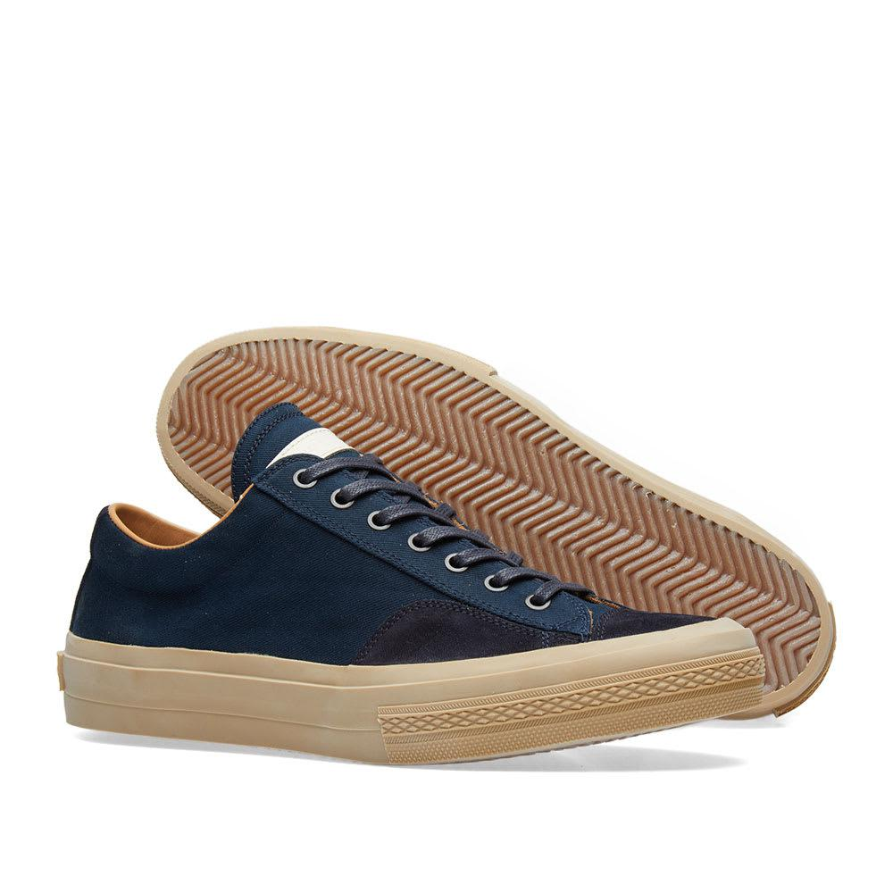 7f73e91ba7 Dries Van Noten - Blue Leather Sneaker for Men - Lyst. View fullscreen