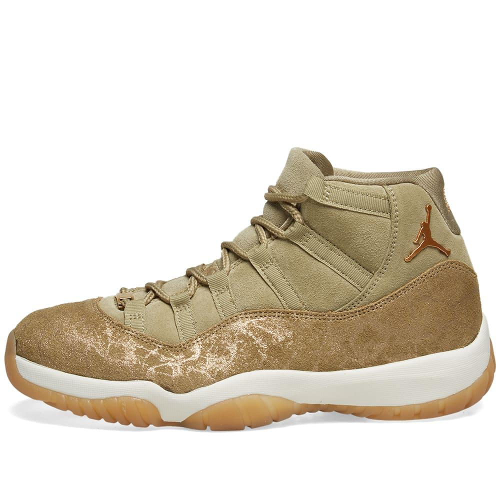 2ab3196bdb36 Nike - Green Air Jordan 11 W - Lyst. View fullscreen
