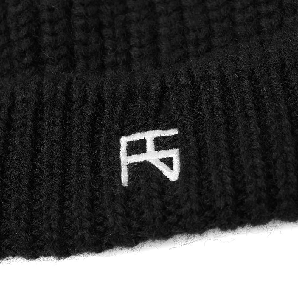 Raf Simons Atari Knit Beanie in Black for Men - Lyst dc68135bbb72