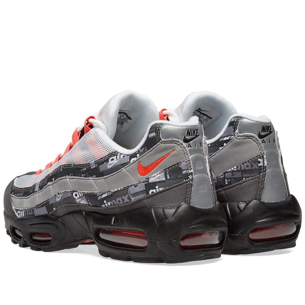 online store 30839 685ac Nike - Black X Atmos Air Max 95 Print for Men - Lyst