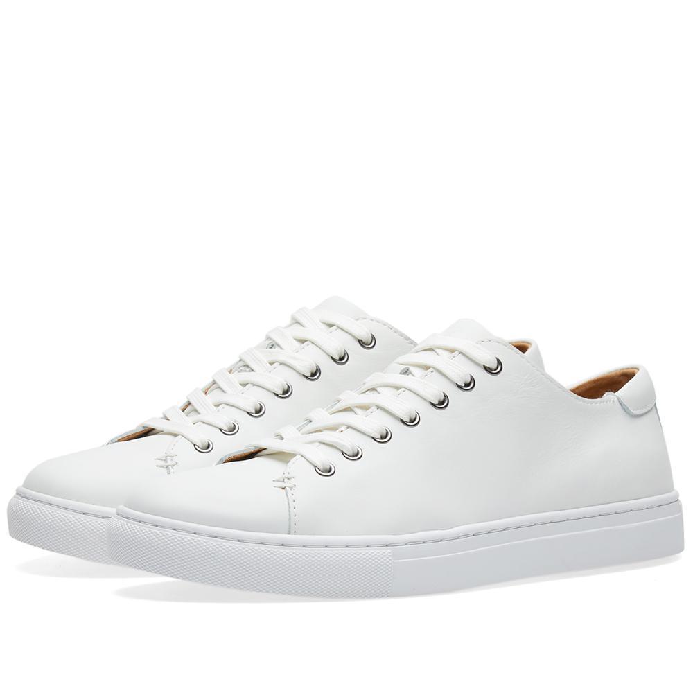 lyst polo ralph lauren jermain sneaker in white. Black Bedroom Furniture Sets. Home Design Ideas