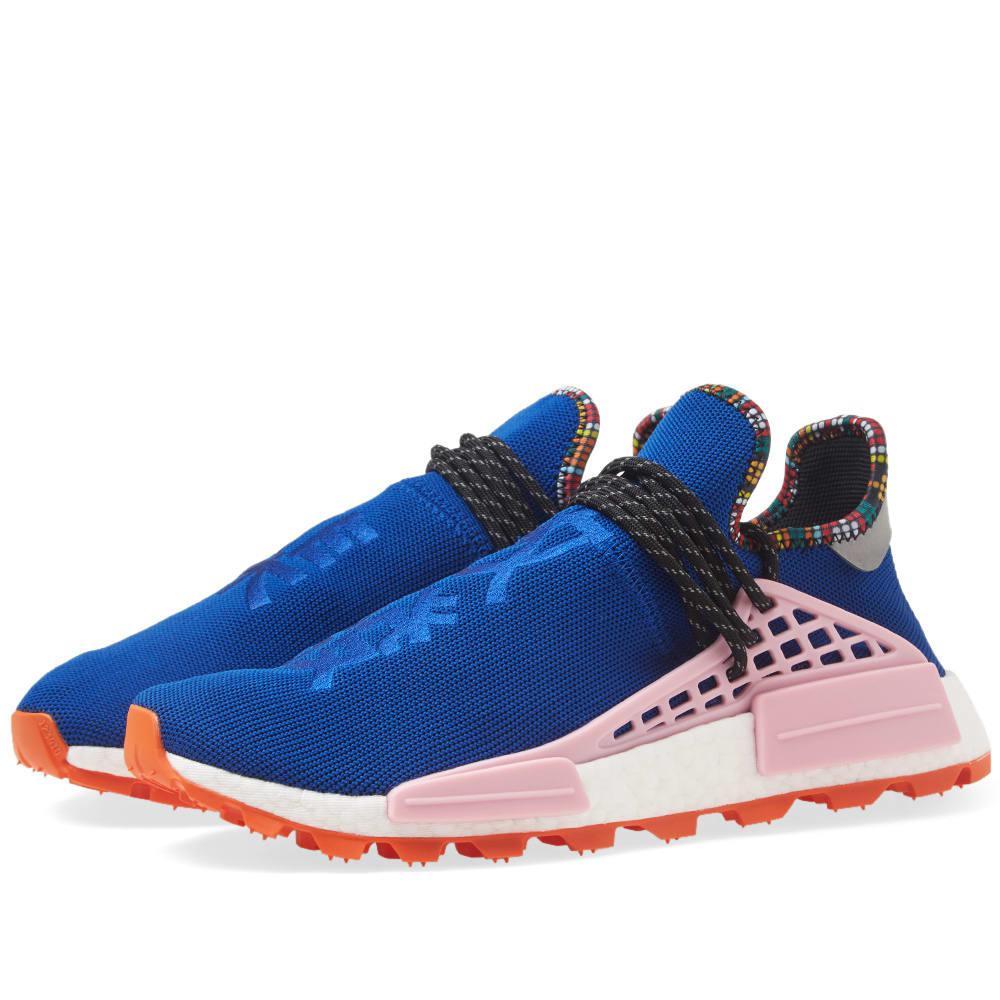 new concept 6d190 0a791 adidas Originals. Men s Blue Adidas By Pharrell Williams Solarhu Nmd