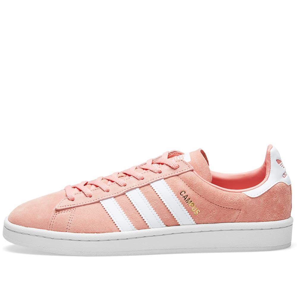 adidas pink campus