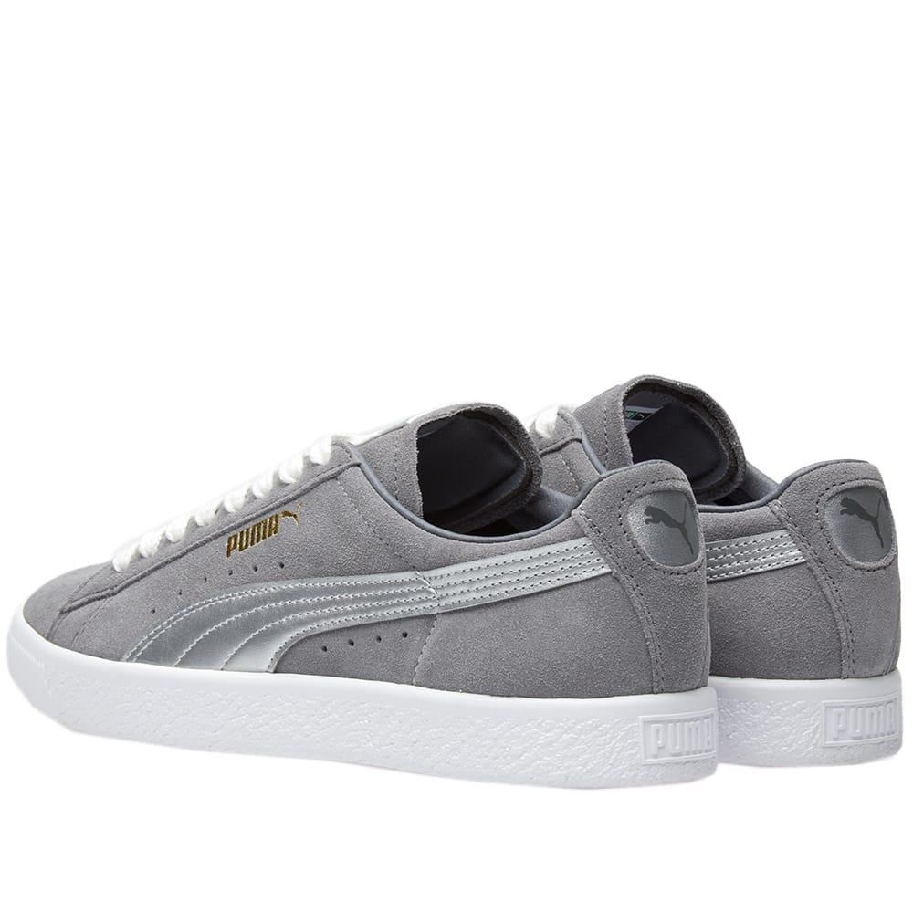 PUMA - Gray Suede 90681 Silver Og Pack for Men - Lyst. View fullscreen 050a456f3