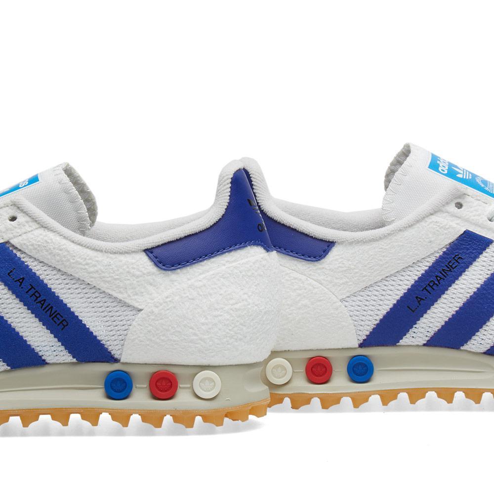 huge discount 8d9dc 916dc Lyst - adidas Originals La Trainer Og in White