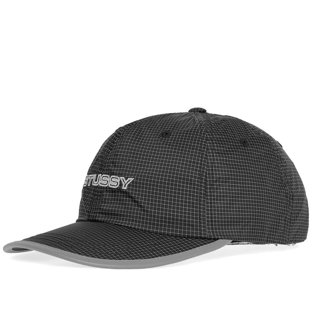 dfc869dd714 Stussy Contrast Ripstop Low Pro Cap in Black for Men - Lyst
