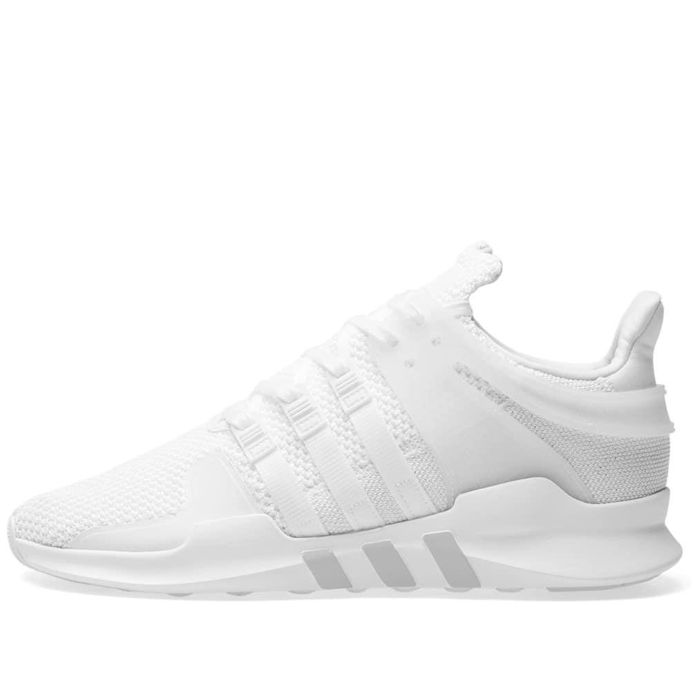 online store b82cc 86338 Lyst - Adidas Eqt Support Adv W in White