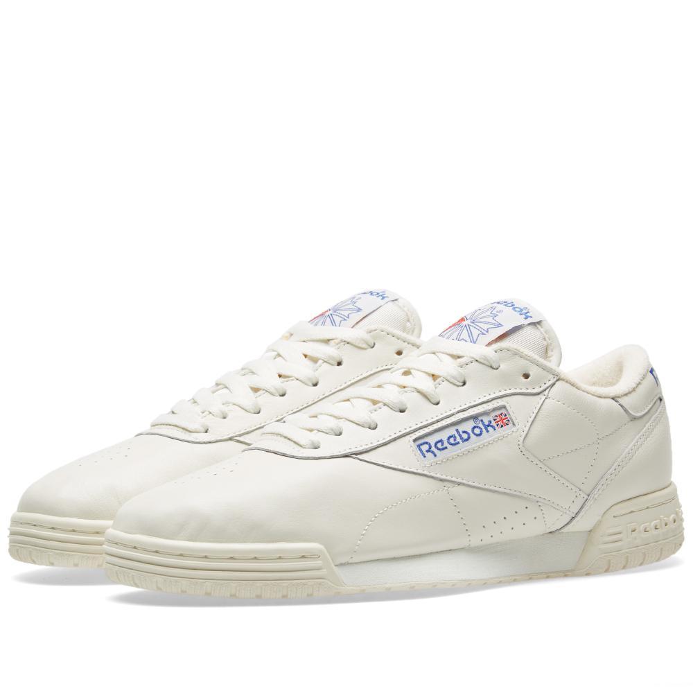 0a9d9247b8d Lyst - Reebok Exofit Low Clean Vintage in White for Men