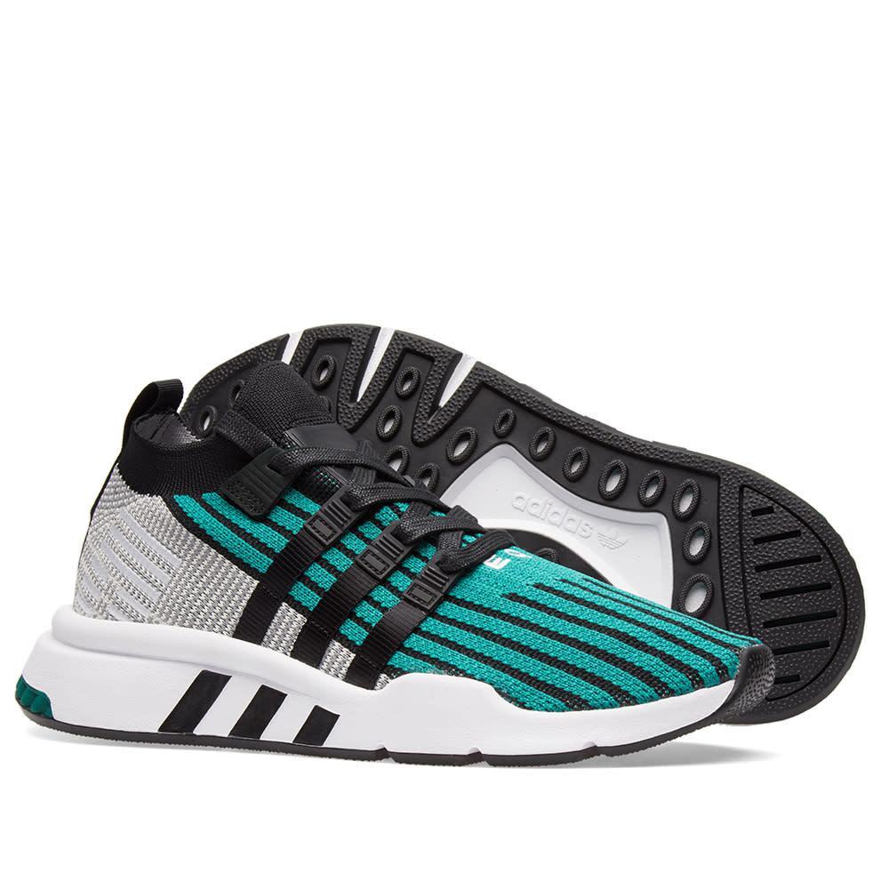 ... low cost adidas 19913 eqt support verde mid adv pk en verde adidas para  hombres lyst a52af05b0a3