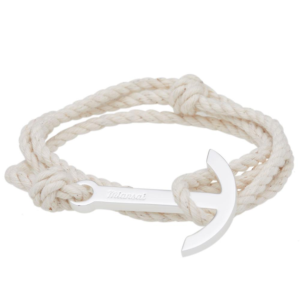 how to make anchor rope bracelet