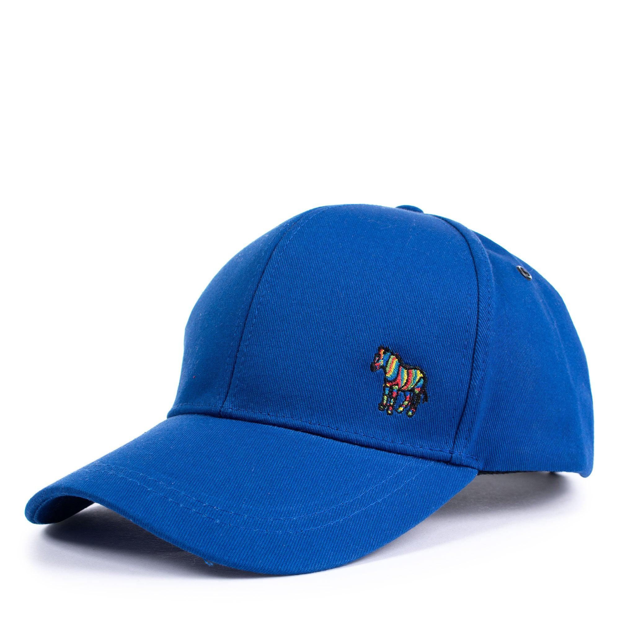 4e253316662 Paul Smith Cotton Zebra Logo Baseball Cap in Blue for Men - Lyst