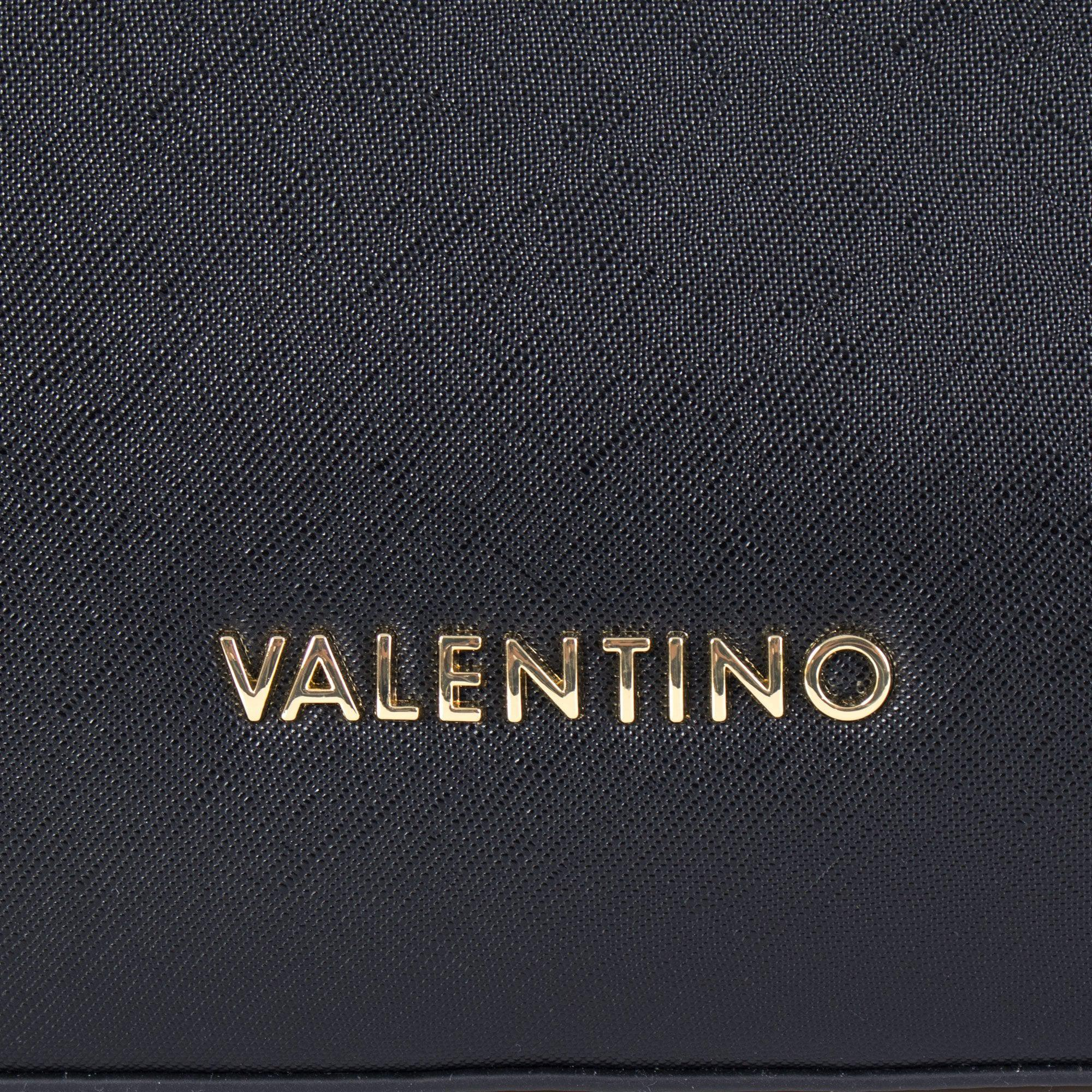 509b8b4eb3bf Valentino Metropolis Crosshatch Tote in Black - Lyst