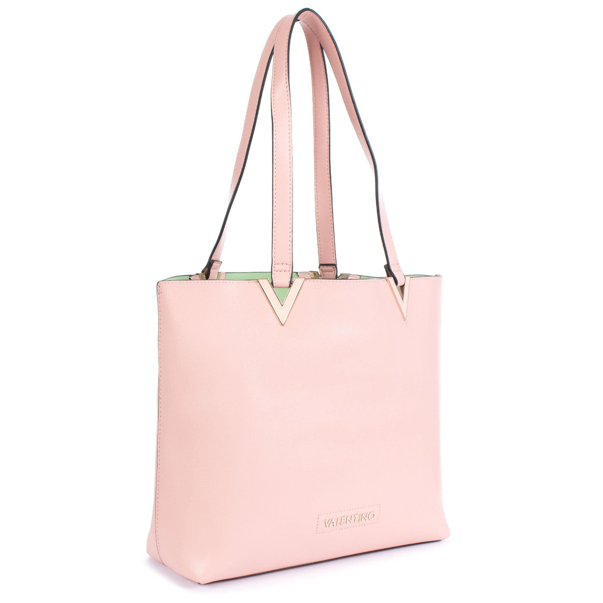 5fa604bee Valentino Calendula Contrast Lined Shopper in Pink - Lyst