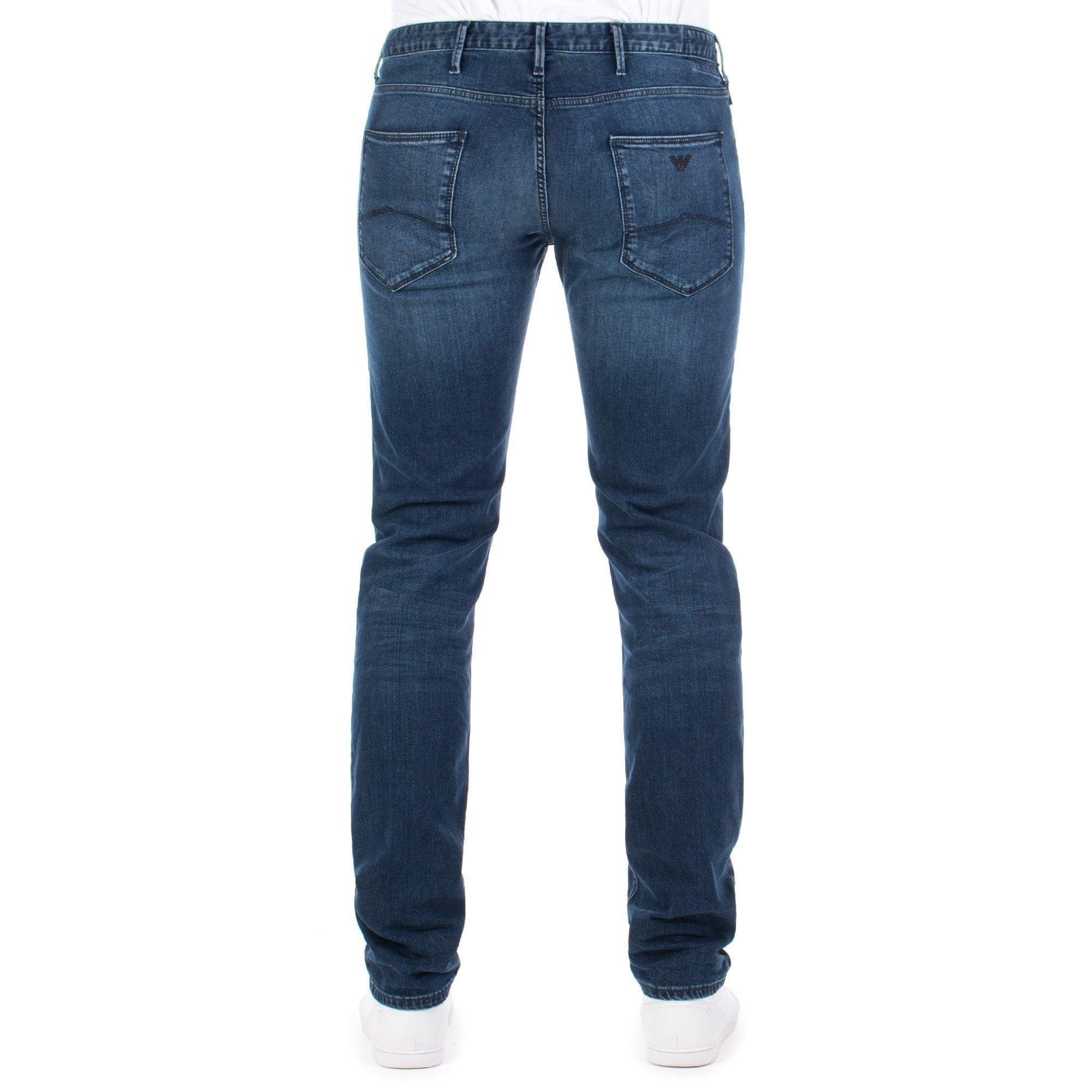 8d81afef12 Emporio Armani J06 Slim Fit Jeans in Blue for Men - Lyst