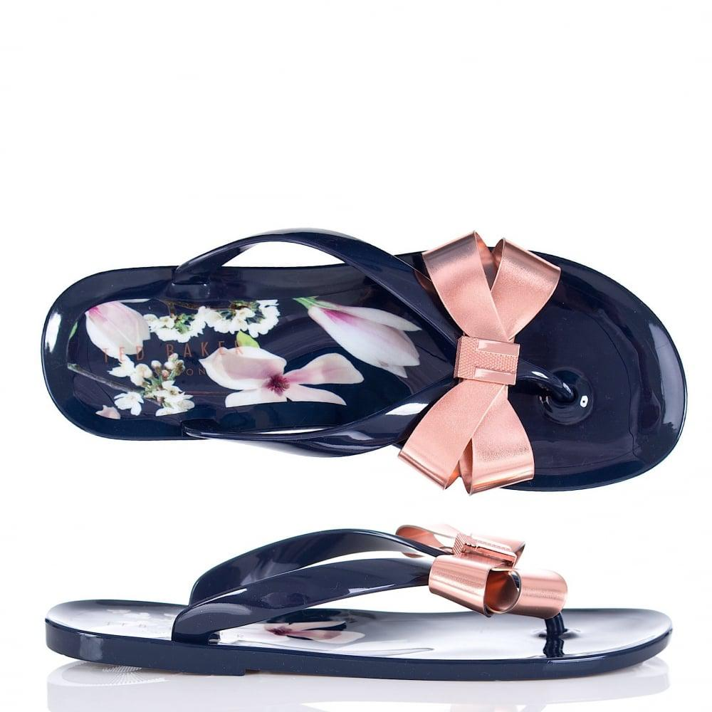 077406bb9 Ted Baker Izydor Harmony Flip Flop In Navy in Blue - Lyst