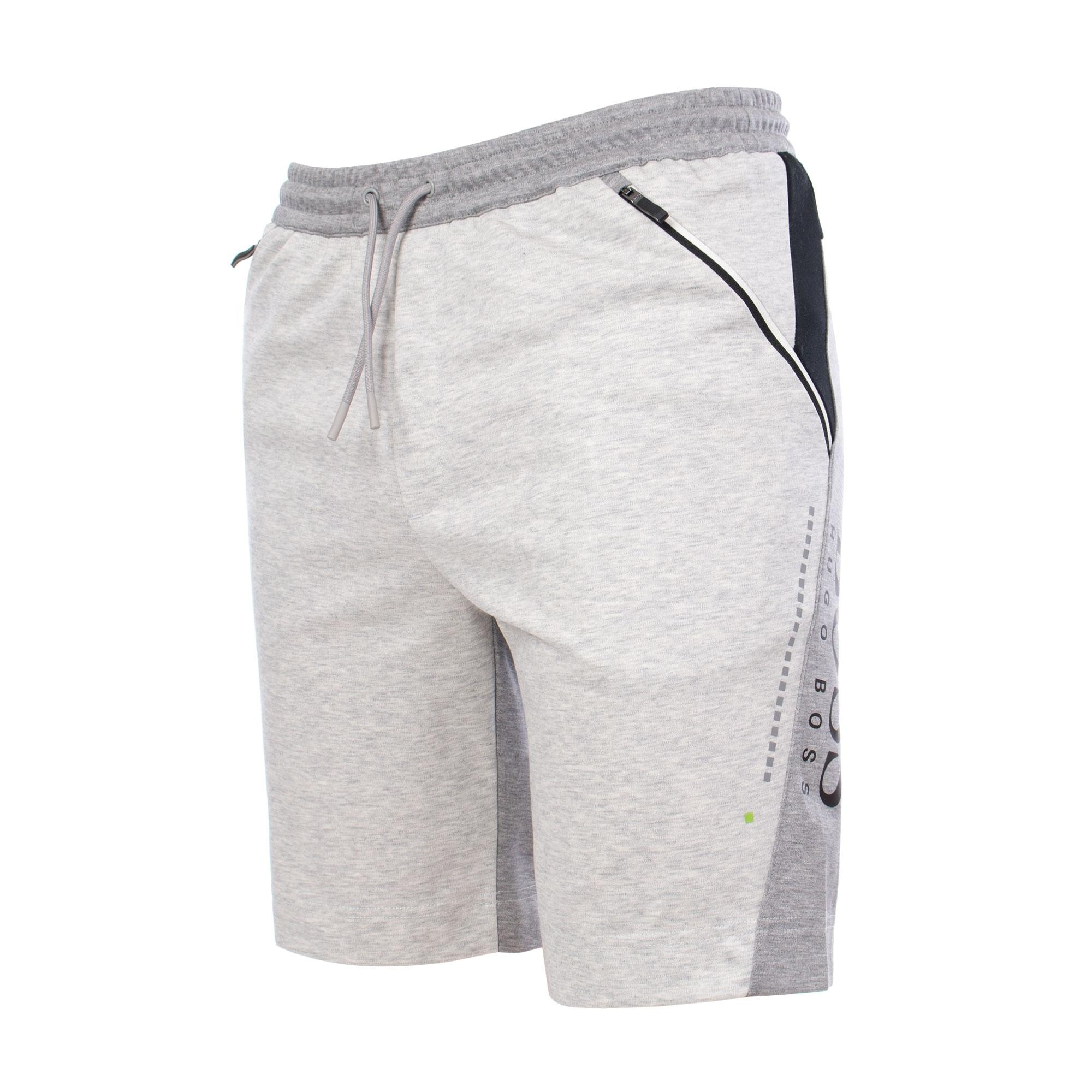 7febb2f7d BOSS - Gray Athleisure Hsl Slim Fit Shorts for Men - Lyst. View fullscreen