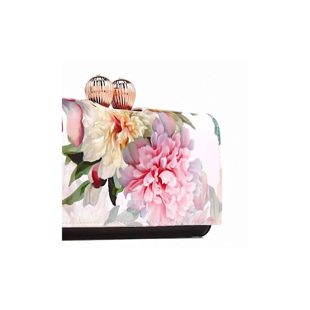 9af45bf1e836d8 Ted Baker Jeebe Printed Purse in Pink - Lyst