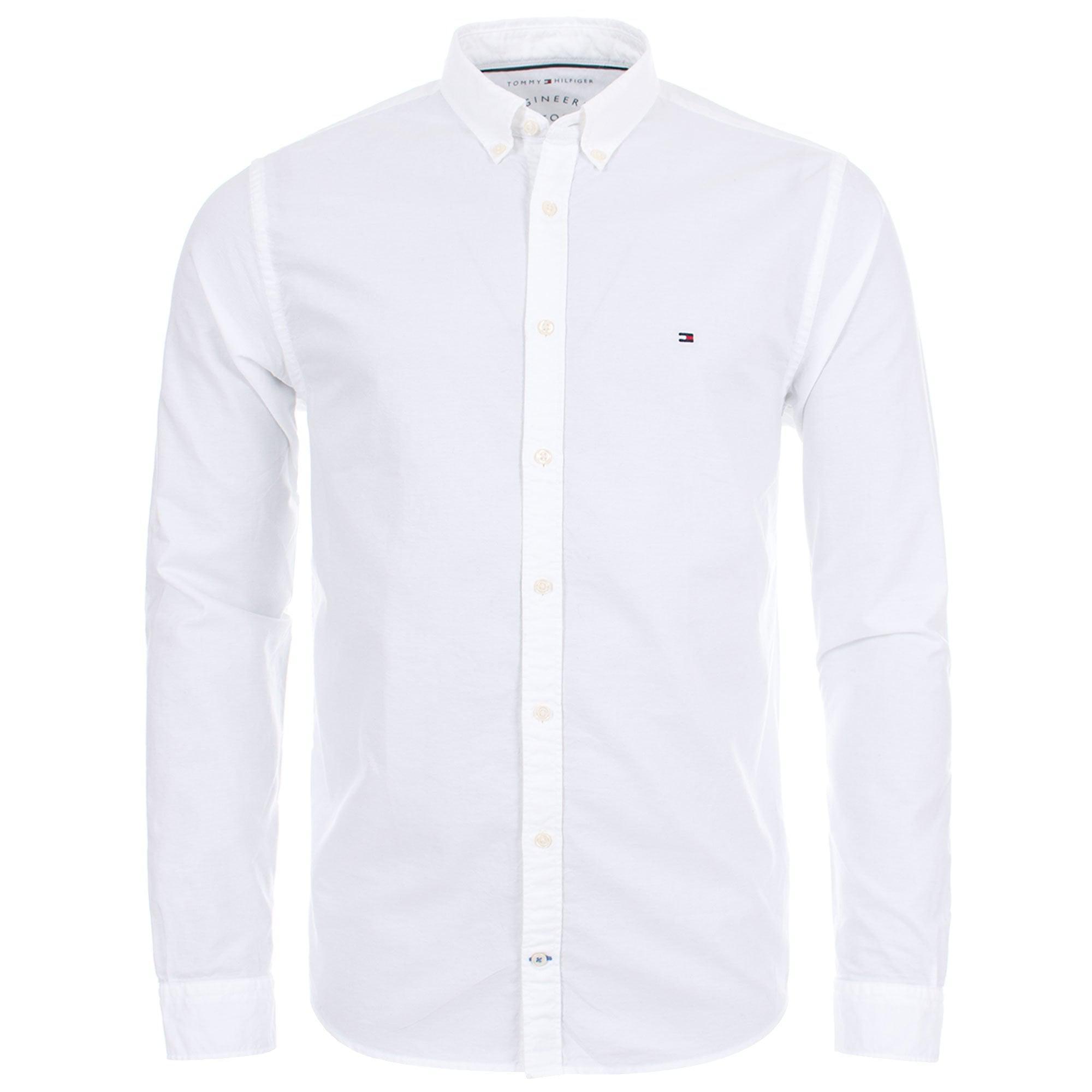 4504229da271 Tommy Hilfiger Engineered Shirt in White for Men - Lyst