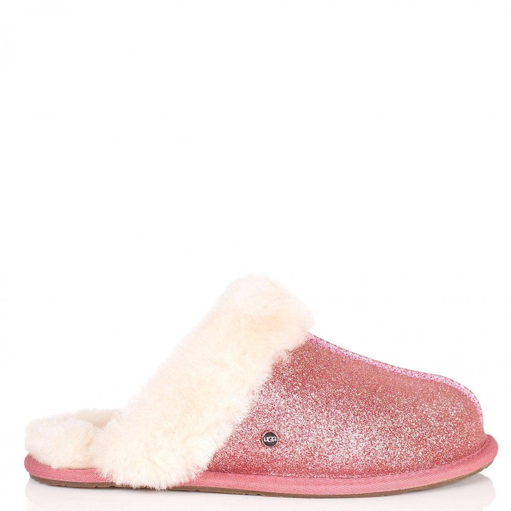 d29882b054c Ugg Scuffette Ii Sparkle Slippers Pink - Skirt and Slipper ...