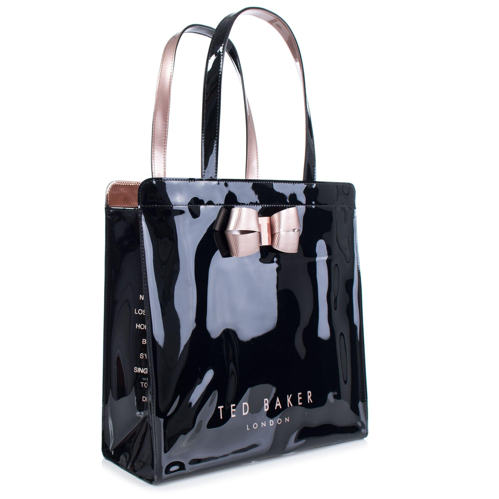58fcbd7cc390 Ted Baker Vallcon Large Shopper in Black - Lyst