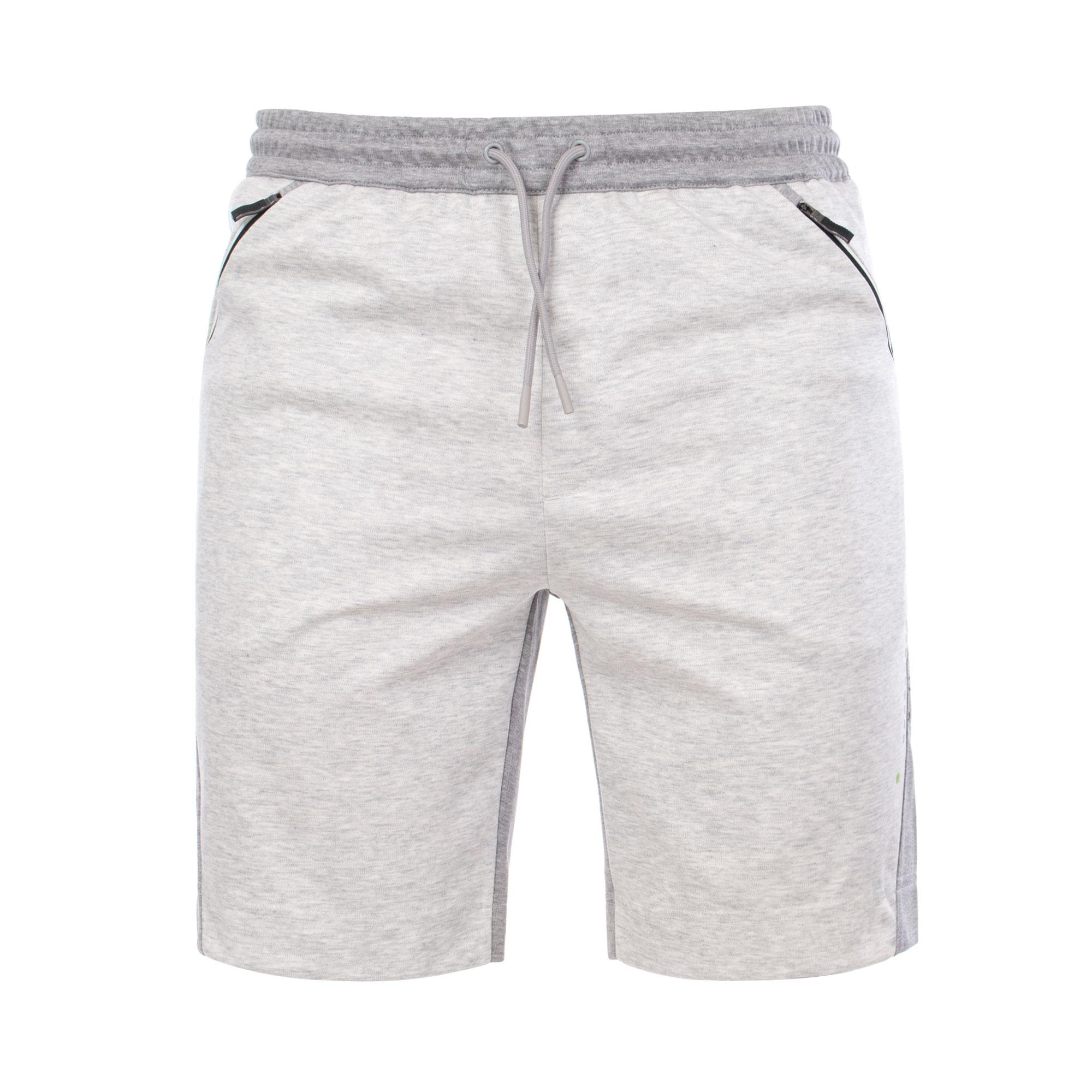605dffc68 BOSS Athleisure Hsl Slim Fit Shorts in Gray for Men - Lyst