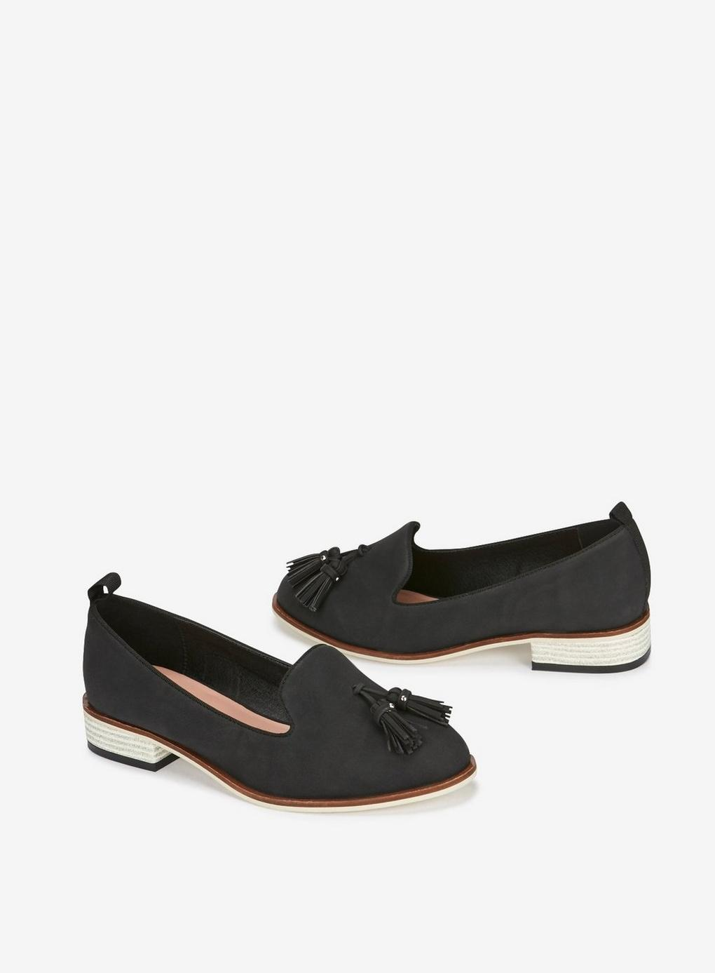 Wide Loafers Fit Extra Lyst Black Evans Tassel In DHE29I