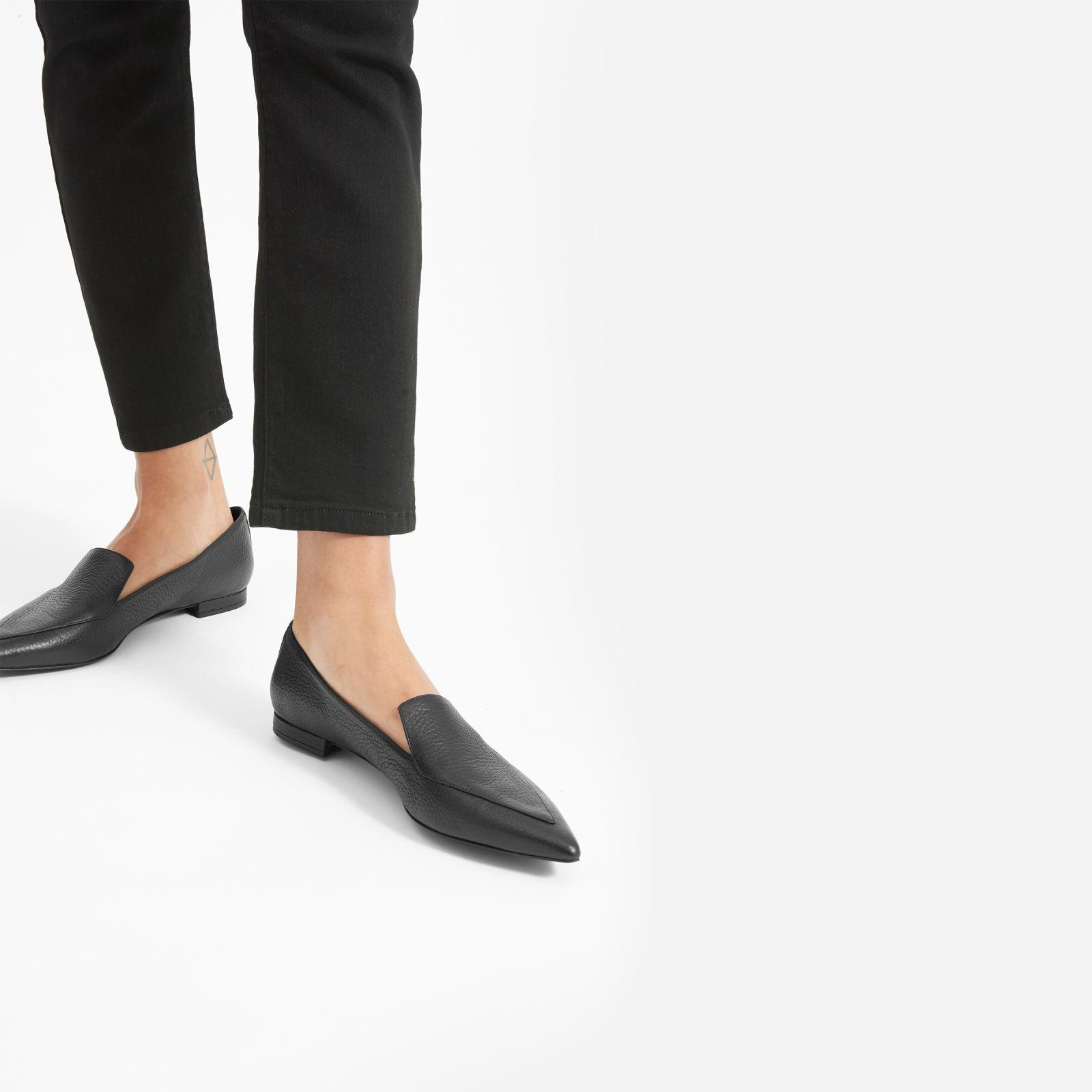 0707616d31f Everlane - Black The Boss Flat - Lyst. View fullscreen
