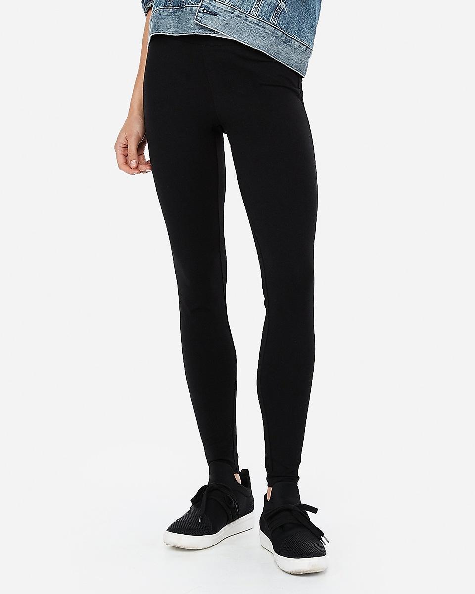 Express Sexy Stretch Full Length Leggings Black - Lyst-8162