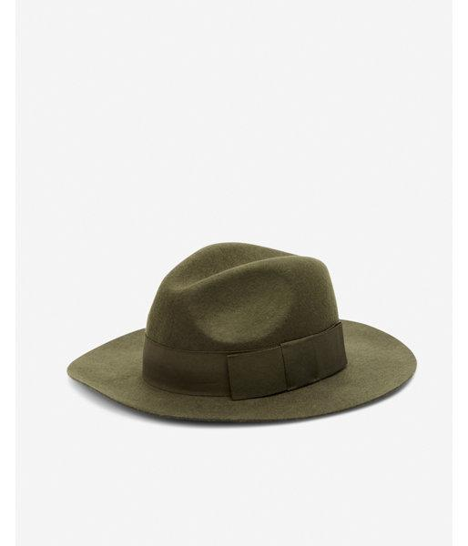 4fbb19f598f Express Wool Floppy Fedora in Green - Lyst
