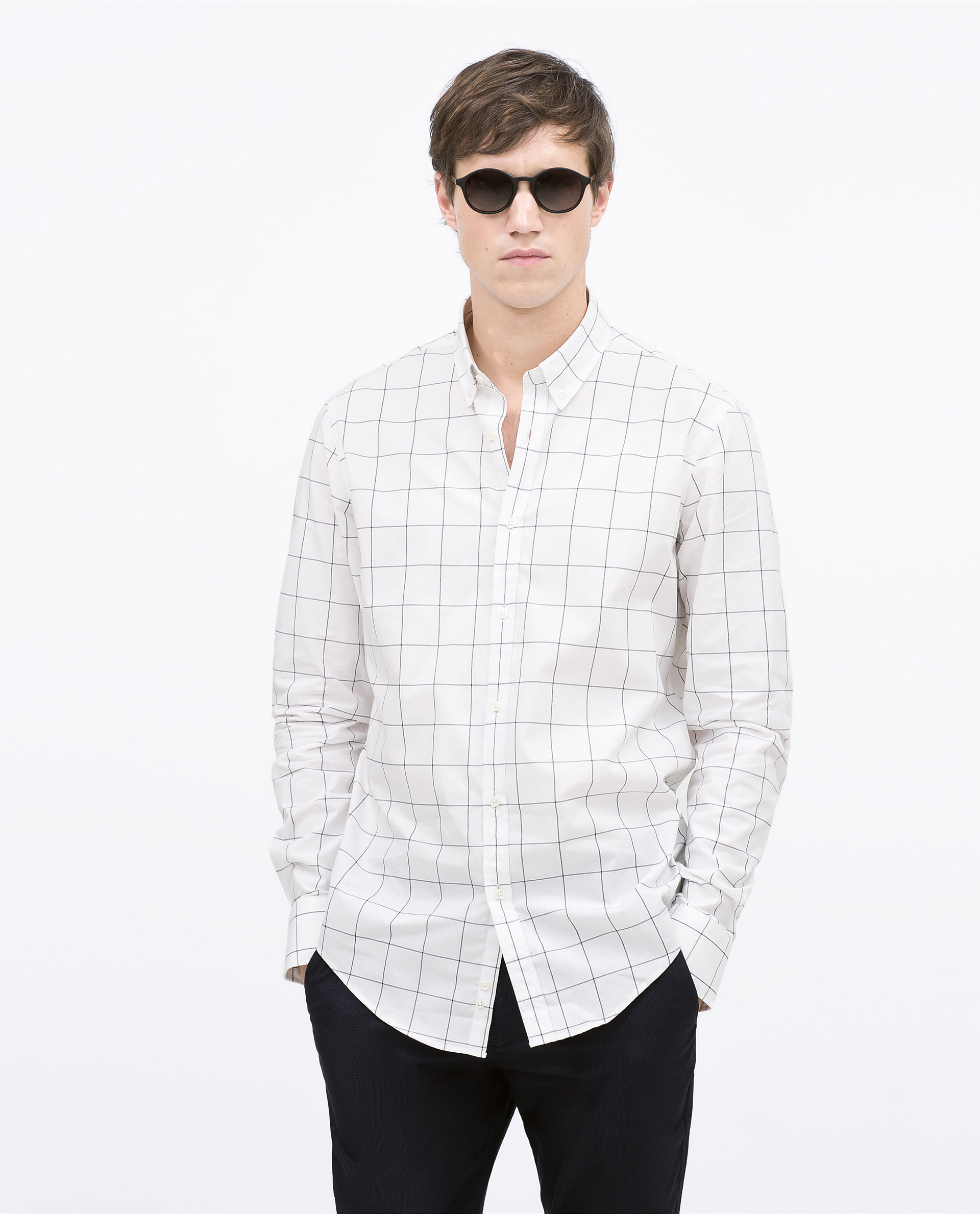 White Check Shirt | Is Shirt