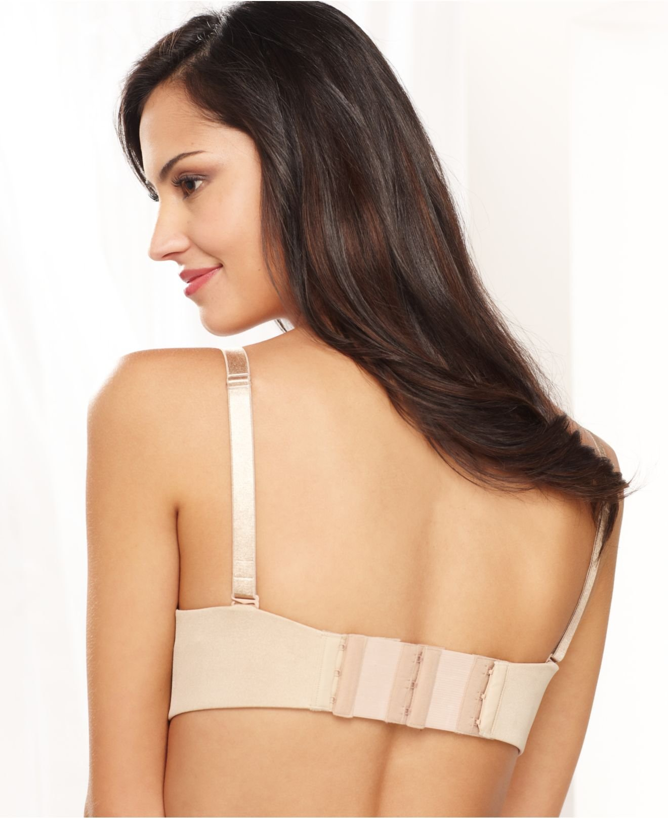 Bra strap extenders are ideal for bras that shrink in laundering and in between sizes. Bra back extenders are made of washable cotton rayon and elastic. Available in 2, 3 or 4 hook bra extenders.