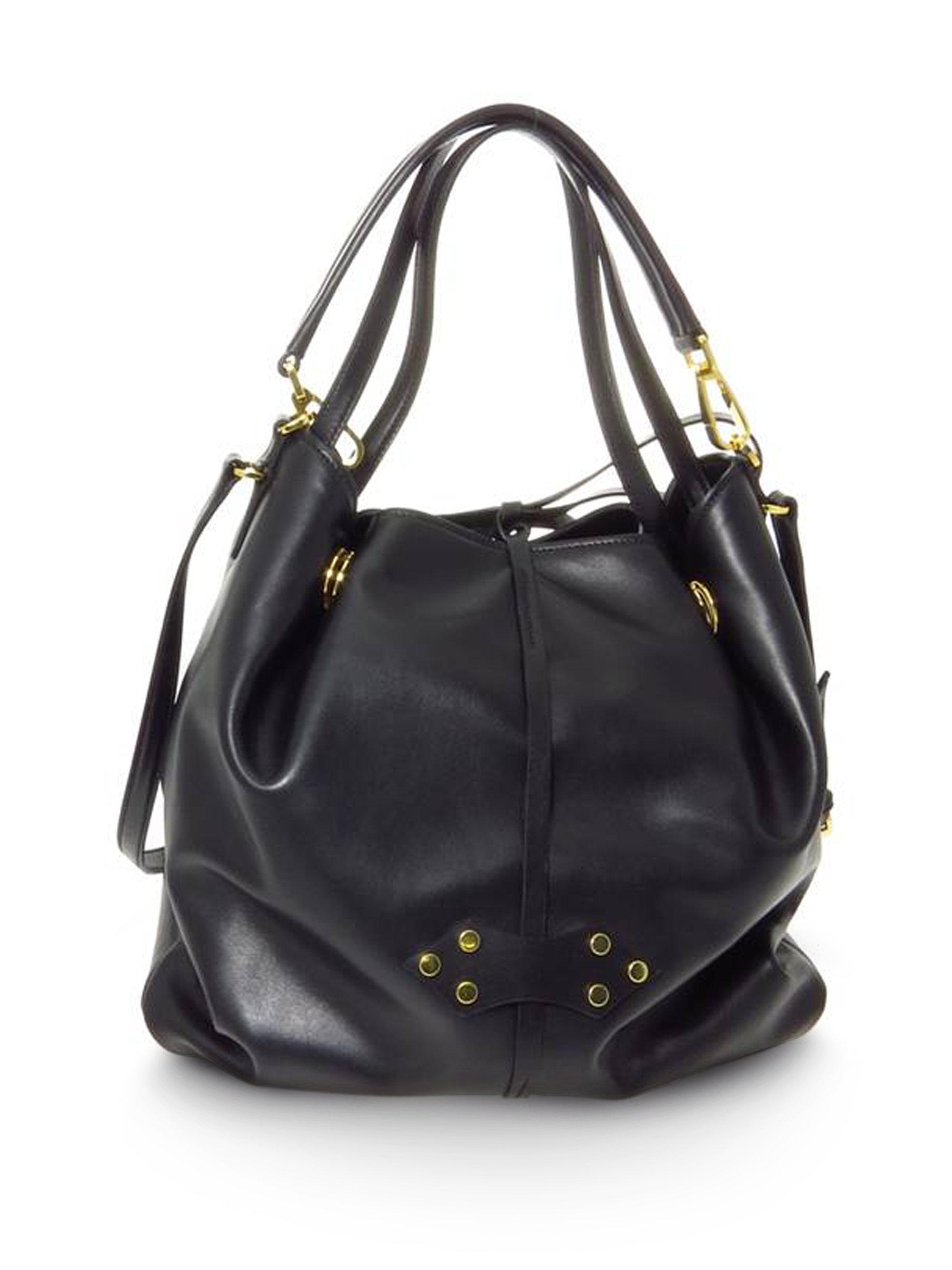 Lyst miu large vitello soft bucket bag in black jpg 2000x2667 Miu vitello  bags aa88a9b93e
